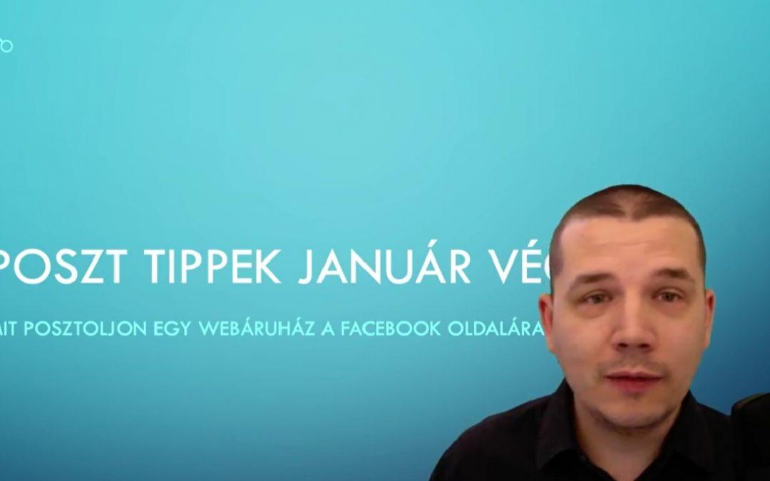 Mit posztoljon egy webáruház a facebook oldalára? – Posztötletek 4. rész